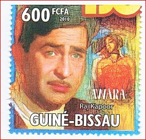 Indian cinema on stamps - Let's talk about Bollywood! (1/5)