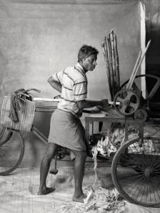 Sugarcane juice seller, earning $24 per week, 2012