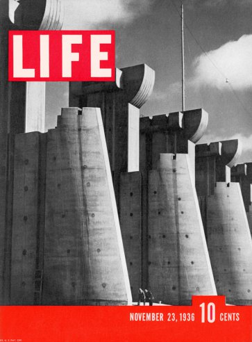 LIFE magazine, November 23, 1936. (Debut issue.)