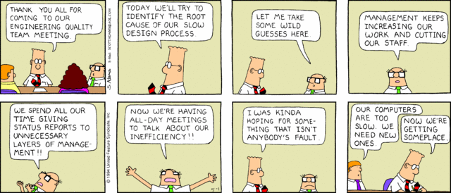 Dilbert And Modern Marketing further 355772 further Dilberts 20 Funniest Cartoons On Big Data as well Carnival Of Quality Management Articles And Blogs September 2014 additionally Updated Cover Sheet For The Tps Report. on dilbert team cartoon