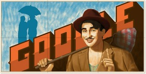 Raj Kapoor - Google Doodle