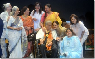 Shashi Kapoor and His Leading Ldies - Dadasaheb Phalke Award
