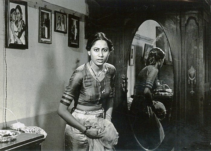 In Shyam Benegal's Bhumika (1977), a film bloosely based on Hansa Wadkar's autobiography Sangtye Aika