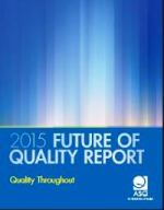 Future of Quality - Report - 2015