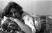 Madhubala - a 1951 shoot for LIFE by photographer James Burke - 2