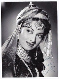 Suraiya - A personally autographed picture