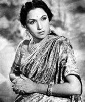 Lalita Pawar - in 1940s