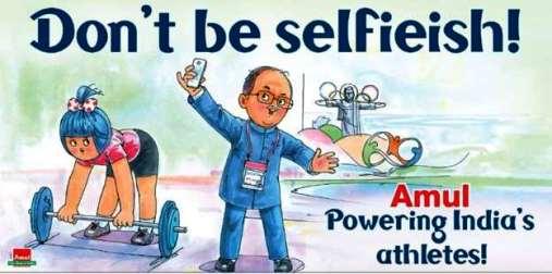 Amul - Don't be Selfi-ish